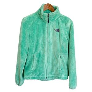 THE NORTH FACE Women's Osito Teal Zip Up Jacket S